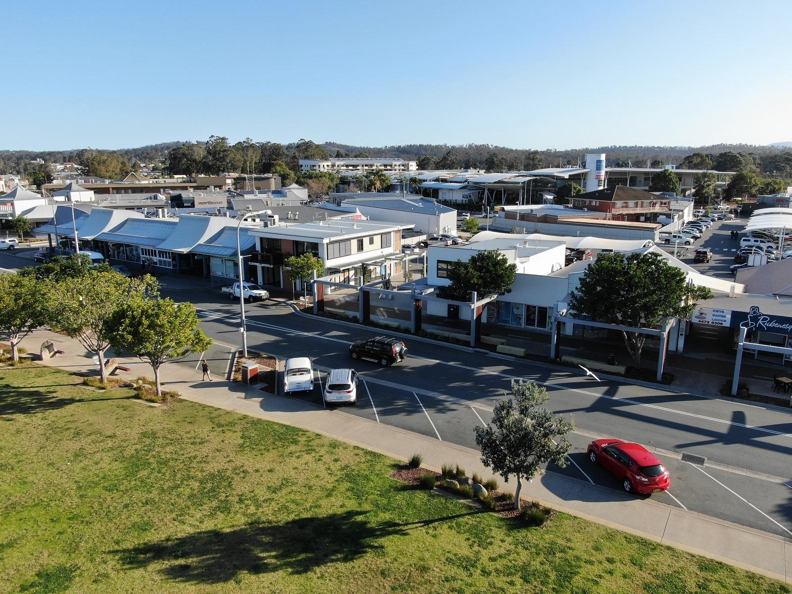 Village Centre & Bridge Plaza Batemans Bay